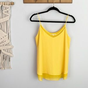 VIOLET + CLAIRE Yellow Tank Top